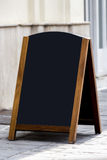 Πίνακας διαφημίσεων επιλογών εστιατορίων Στοκ Εικόνα