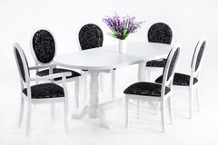Πίνακας και έδρες Στοκ Φωτογραφίες