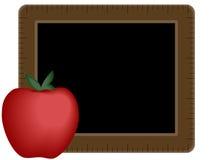 πίνακας κιμωλίας μήλων Στοκ εικόνα με δικαίωμα ελεύθερης χρήσης