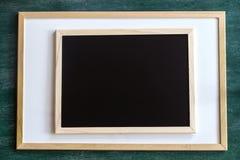 Πίνακας κιμωλίας πινάκων Whiteboard στοκ φωτογραφίες