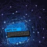 Πίνακας κυκλωμάτων υπολογιστών Στοκ φωτογραφίες με δικαίωμα ελεύθερης χρήσης