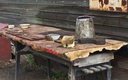 Πίνακας με τα εργαλεία και τα εργαλεία Στοκ φωτογραφίες με δικαίωμα ελεύθερης χρήσης