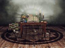 Πίνακας με τα τελετουργικά αντικείμενα απεικόνιση αποθεμάτων