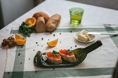 Πίνακας με τα τρόφιμα τυποποιημένα Στοκ φωτογραφίες με δικαίωμα ελεύθερης χρήσης