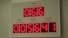 Πίνακας με τους αριθμούς φιλμ μικρού μήκους
