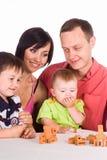 πίνακας οικογενειακών π& Στοκ Εικόνες
