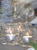 Πίνακας οργάνωσης με ένα φως κεριών για την ειδική περίπτωση στοκ φωτογραφίες
