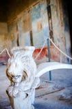 Πίνακας που εργάζεται λεπτά σε ένα Domus της Πομπηίας Στοκ Φωτογραφίες