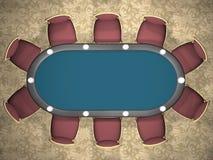 πίνακας πόκερ απεικόνιση αποθεμάτων