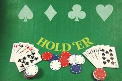 πίνακας πόκερ Στοκ εικόνα με δικαίωμα ελεύθερης χρήσης