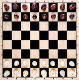 Πίνακας σκακιού στοκ εικόνες με δικαίωμα ελεύθερης χρήσης