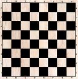 Πίνακας σκακιού στοκ φωτογραφία με δικαίωμα ελεύθερης χρήσης