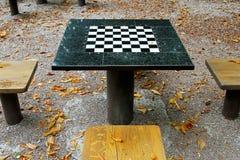 Πίνακας σκακιού Στοκ Φωτογραφία