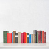 πίνακας στοιβών βιβλίων Στοκ Φωτογραφία