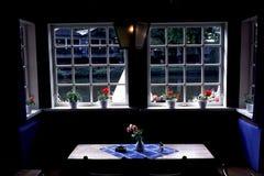 Πίνακας στο εστιατόριο στη Δανία στοκ φωτογραφίες