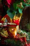 πίνακας τιμής τών παραμέτρων Χριστουγέννων στοκ φωτογραφία με δικαίωμα ελεύθερης χρήσης