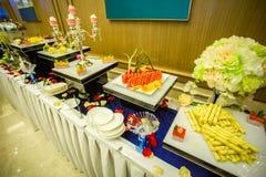 Πίνακας τροφίμων κόμματος Στοκ Εικόνα