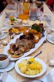 πίνακας τροφίμων Στοκ Φωτογραφίες