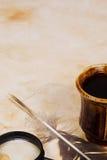 πίνακας φτερών καφέ στοκ εικόνες