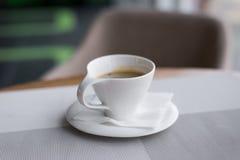 πίνακας φλυτζανιών καφέ Στοκ εικόνες με δικαίωμα ελεύθερης χρήσης
