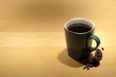 πίνακας φλυτζανιών καφέ Στοκ Φωτογραφίες