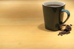 πίνακας φλυτζανιών καφέ Στοκ φωτογραφίες με δικαίωμα ελεύθερης χρήσης