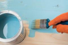 Πίνακας χρωμάτων εργαζομένων Στοκ Εικόνα
