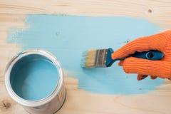 Πίνακας χρωμάτων εργαζομένων Στοκ εικόνες με δικαίωμα ελεύθερης χρήσης