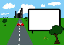 πίνακας διαφημίσεων Στοκ φωτογραφίες με δικαίωμα ελεύθερης χρήσης