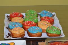 Πίνακας Donuts Στοκ εικόνα με δικαίωμα ελεύθερης χρήσης