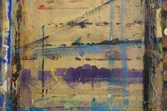Πίνακας Painterπου καταβρέχεται με το υπόβαθρο 17 χρωμάτων Στοκ Εικόνες