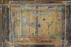 Πίνακας Painterπου καταβρέχεται με το υπόβαθρο 12 χρωμάτων Στοκ Εικόνα