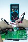 Πίνακας PCB επισκευής Στοκ Εικόνες