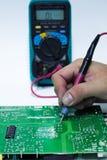 Πίνακας PCB επισκευής Στοκ εικόνες με δικαίωμα ελεύθερης χρήσης