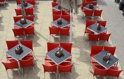 πίνακες εστιατορίων εδρώ& brillo Αγγλία στοκ εικόνα