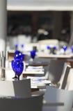 πίνακες εστιατορίων Στοκ φωτογραφία με δικαίωμα ελεύθερης χρήσης