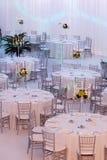 Πίνακες και καρέκλες Στοκ Φωτογραφίες