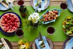 πίνει τα τρόφιμα Στοκ Εικόνες