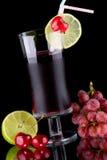 πίνει το οργανικό SE χυμού υγείας νωπών καρπών Στοκ Εικόνα