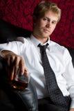 πίνοντας άτομο αλκοόλης στοκ φωτογραφία με δικαίωμα ελεύθερης χρήσης