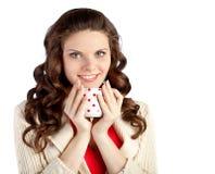 πίνοντας νεολαίες γυναικών τσαγιού Στοκ φωτογραφία με δικαίωμα ελεύθερης χρήσης