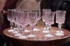 Πίνοντας ποτό κερασιών Στοκ Φωτογραφία