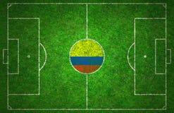 Πίσσα ποδοσφαίρου Στοκ Φωτογραφίες