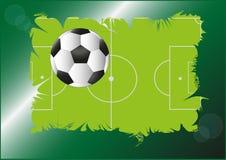 Πίσσα ποδοσφαίρου Στοκ Εικόνες