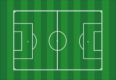 Πίσσα ποδοσφαίρου διανυσματική απεικόνιση