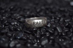 Πίστη δαχτυλιδιών Στοκ Εικόνα