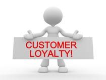 Πίστη πελατών! απεικόνιση αποθεμάτων