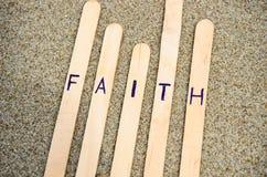 Πίστη στο Λόρδο. στοκ εικόνες