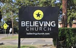 Πίστη του σημαδιού Μέμφιδα, TN εκκλησιών στοκ εικόνες