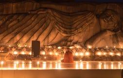 Πίστη του medition μοναχών buddhsit στοκ φωτογραφίες με δικαίωμα ελεύθερης χρήσης